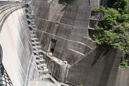 川治ダム 旧道トンネル