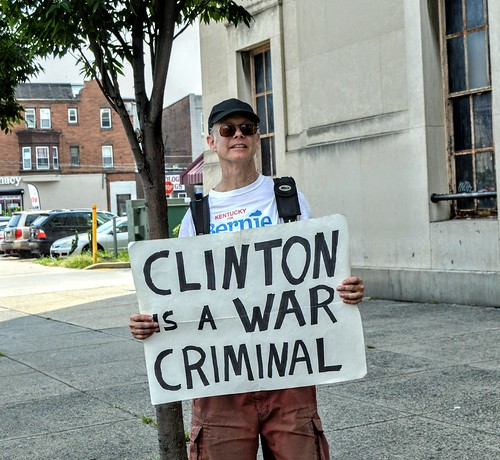 Clinton is a war criminal