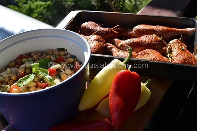 Cuisses de Poulet au Barbecue Parfumées au Tandoori  © Ana Luthi Tous droits réservés 003