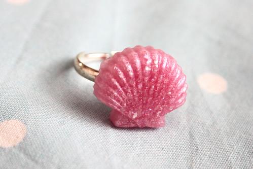 Shell Ring Gift