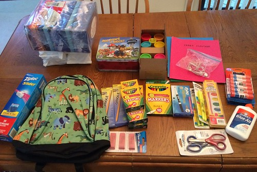 School Supplies for Kindergarten 2016-17