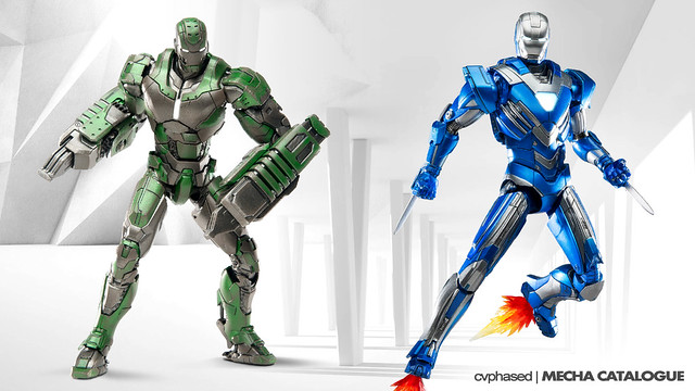 Comicave Studios - Omni Class 1/12 Iron Man Mark 26 & Mark 30