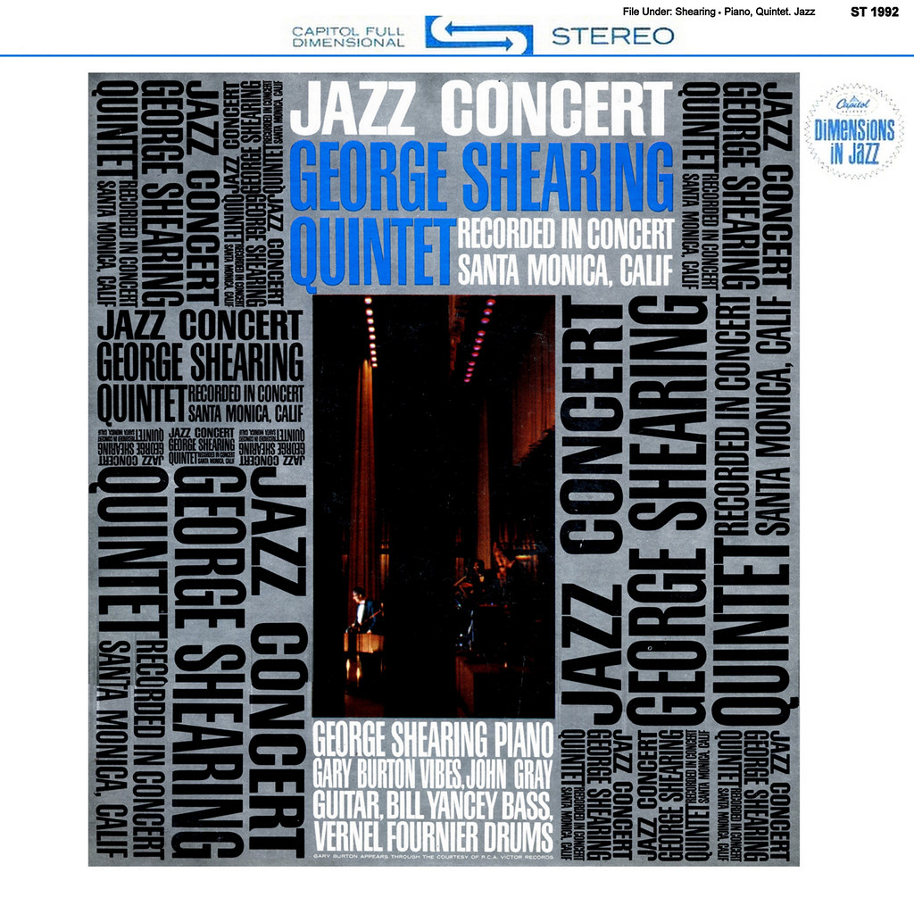 George Shearing - Jazz Concert