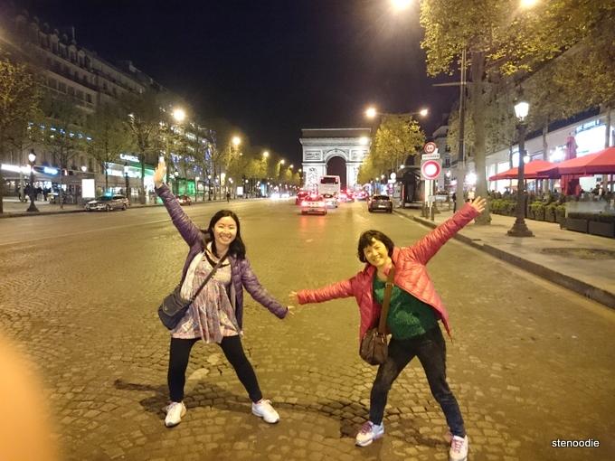 Champs-Élysées street photos