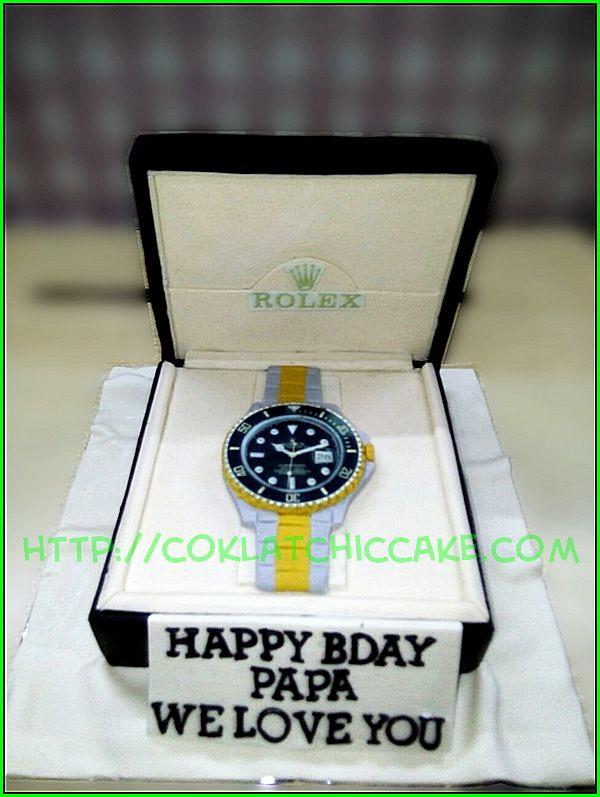 Cake Rolex