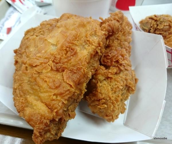 Krispy's Kajun Chicken spicy