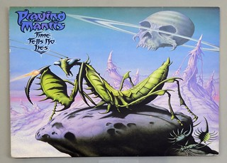 "PRAYING MANTIS TIME TELLS NO LIES NWOBHM 12"" LP VINYL"