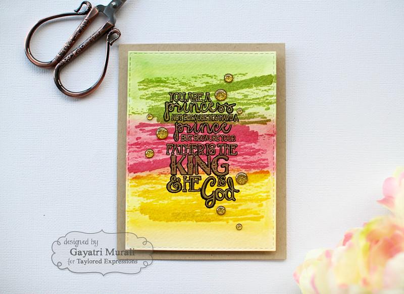 Spiritual card flat