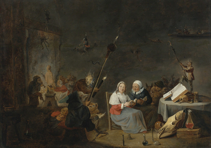 Studio of David Teniers the Younger - The Witches Sabbath, 17th C