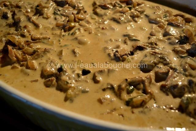 Filets Mignons aux Cèpes & Penne Rigate Gratinés © Ana Luthi Tous droits réservés  011