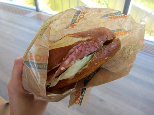 Takeaway Sandwich Lunch from Migros!