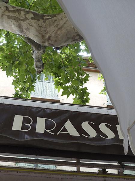 brasserie du marché à Fréjus