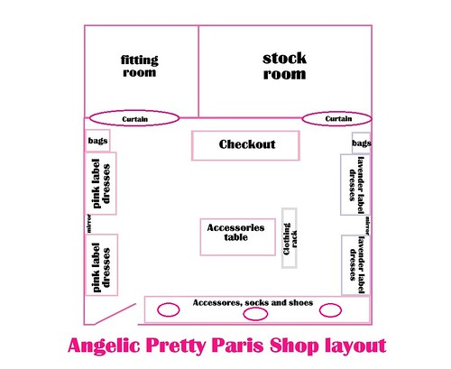 Angelic Pretty Paris Layout