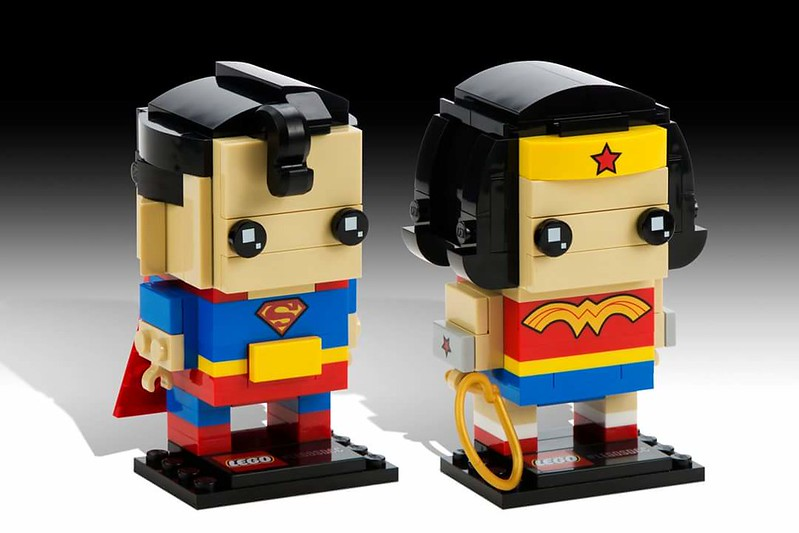 LEGO BrickHeadz: Superman and Wonder Woman
