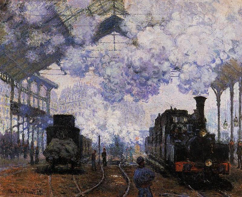 Gare de Saint-Lazare | Monet