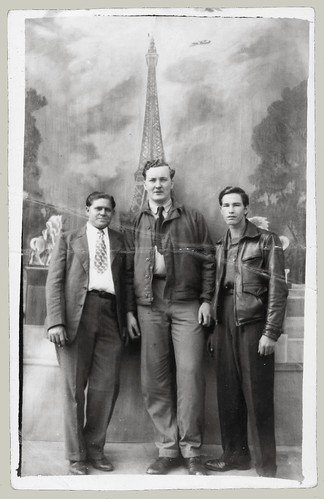 Three men in France