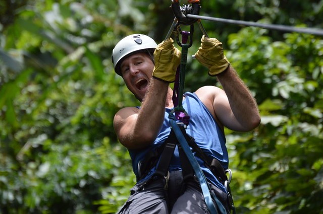 overcoming your fear ziplining