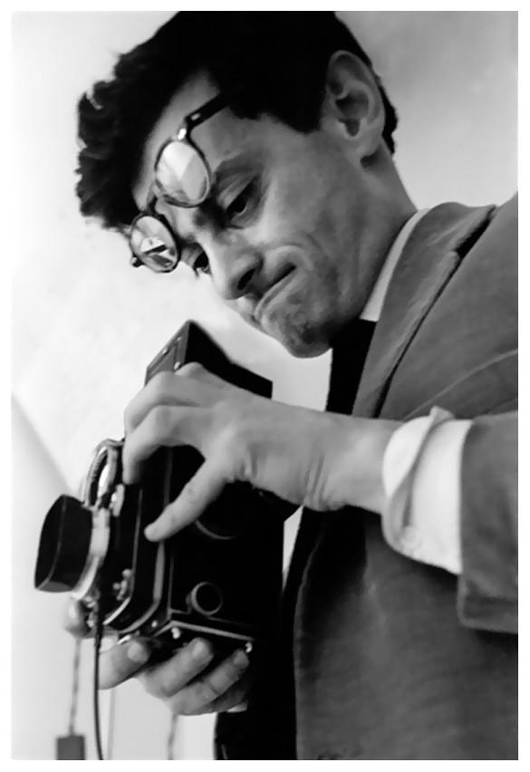 Richard Avedon fotografiado por Frank Horvat en 1963