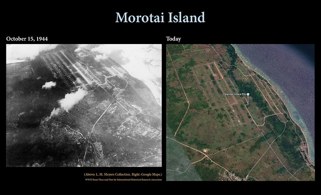 Morotai then and now