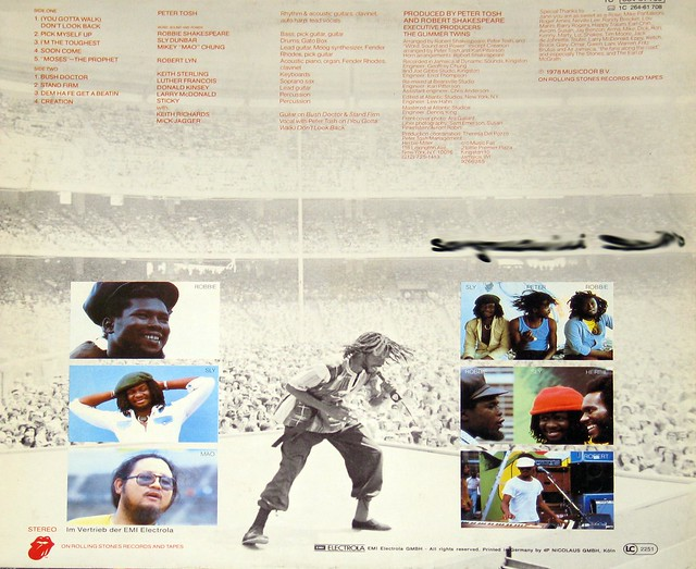 "Peter Tosh Bush Doctor 12"" LP vinyl Album"