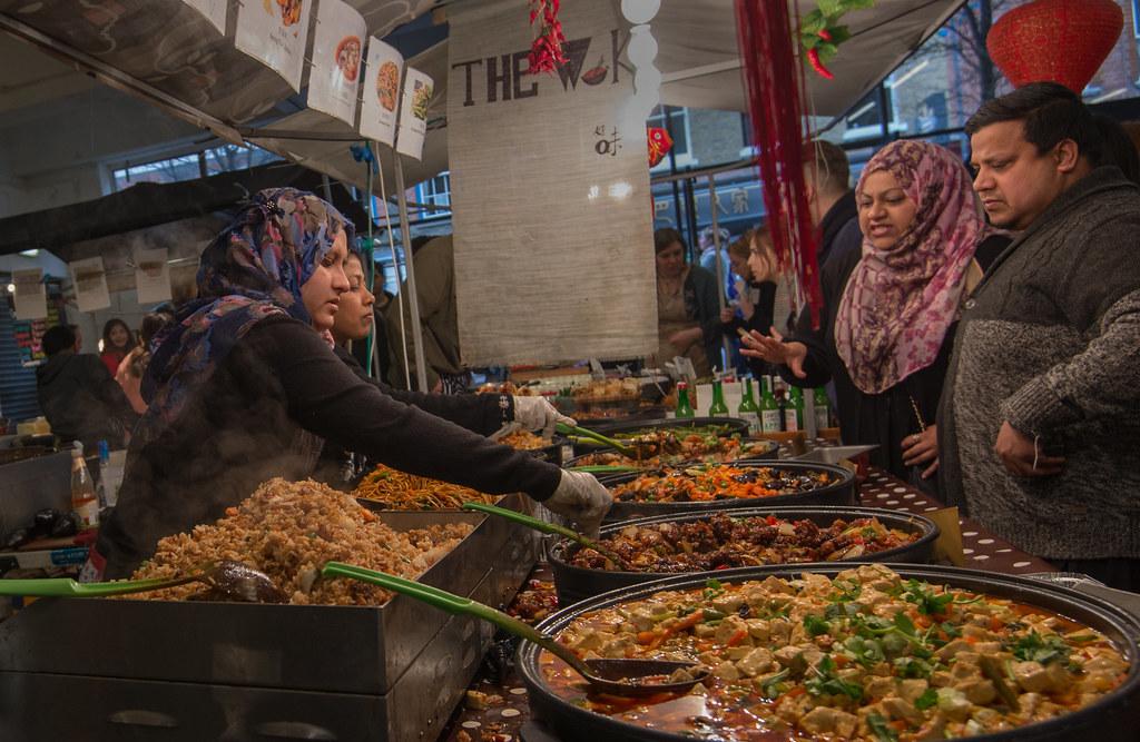 The Food Market, Brick Lane