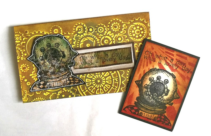 VLV stamps steampunk swap