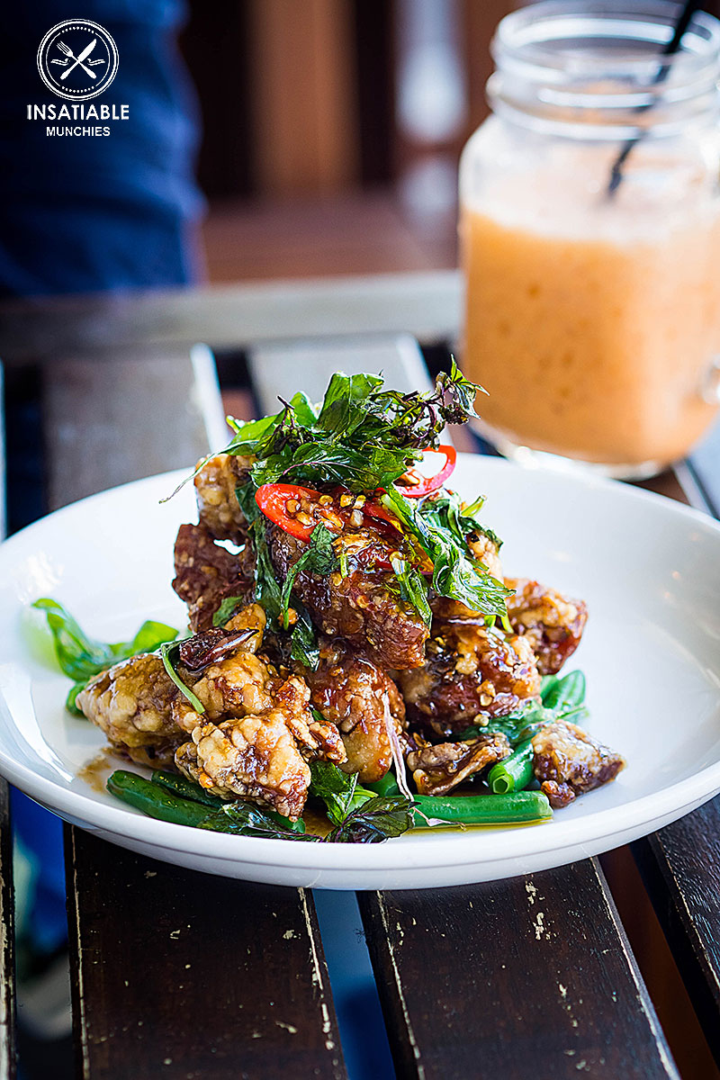 Crispy Basil Duck, $22.90: Korn Thai, Crows Nest. Sydney Food Blog Review