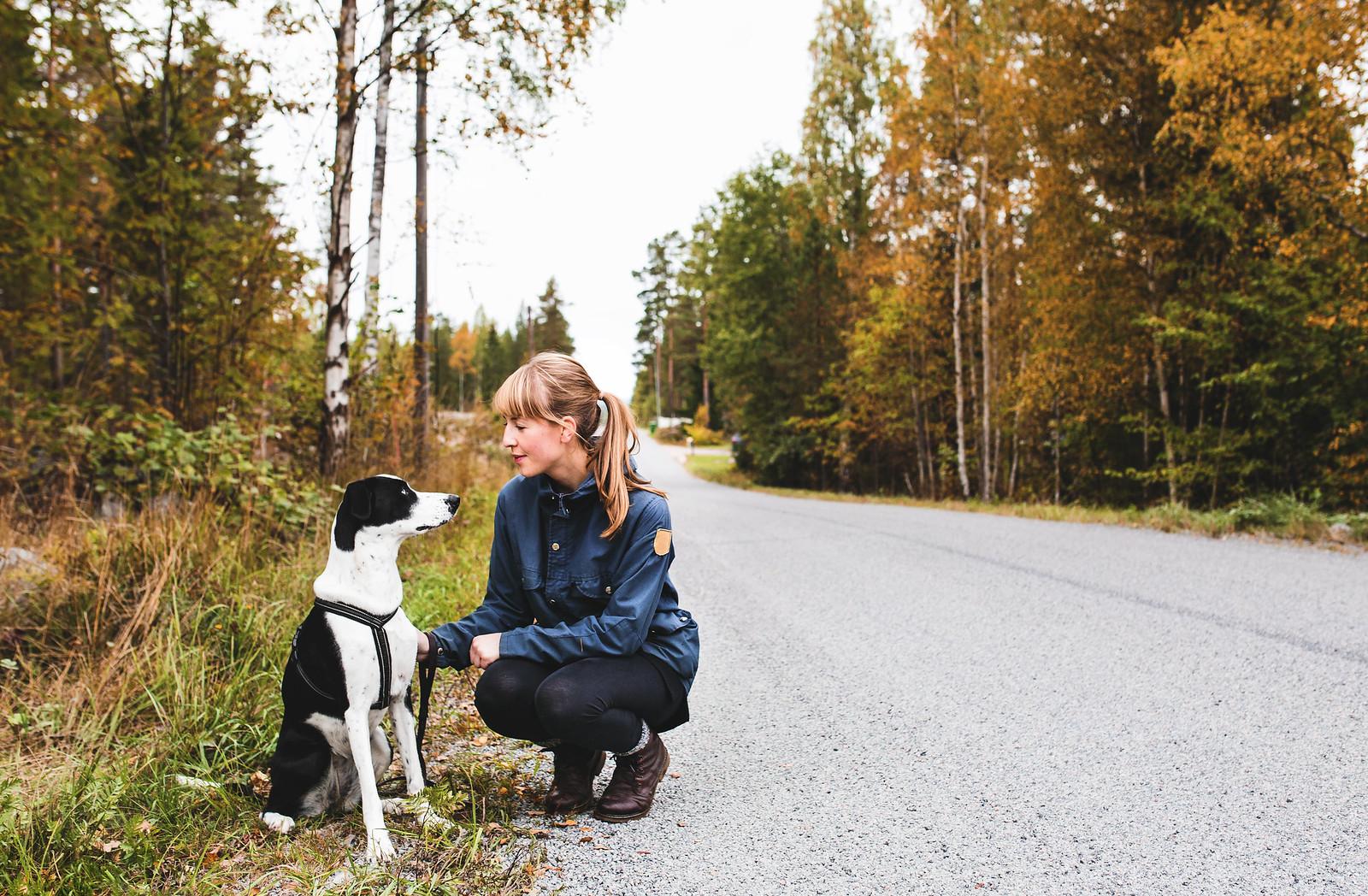 Höstpromenad - Evelinas Ekologiska