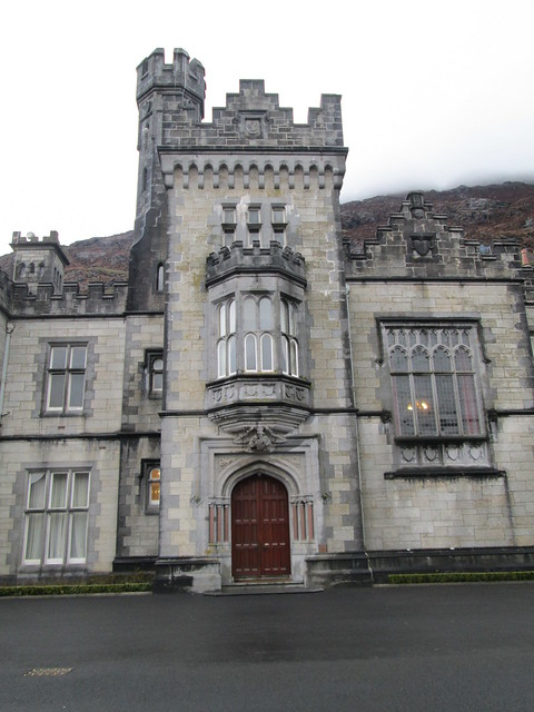 Kylemore Abbey Drive and Door