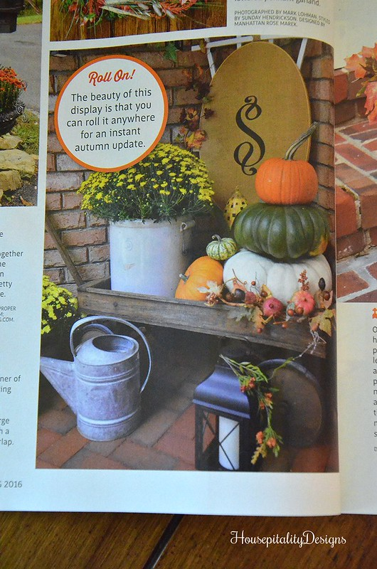 Country Sampler's Autumn Decorating Magazine 2016/Housepitality Designs