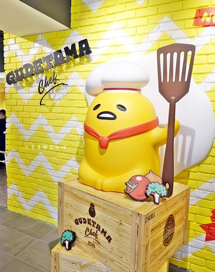 6 Gudetama Chef 蛋黃哥五星主廚餐廳 台北東區美食