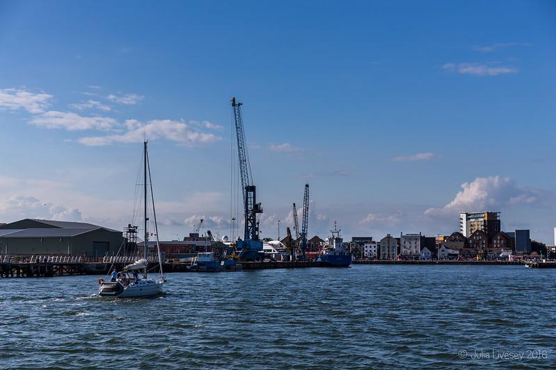 Poole docks and quay