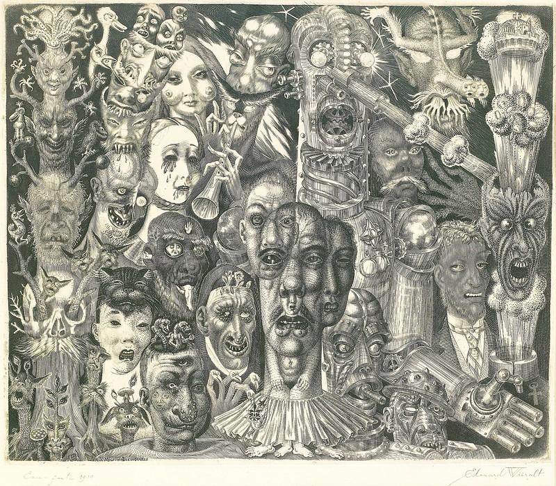 Eduard Wiiralt - Hell, 1932