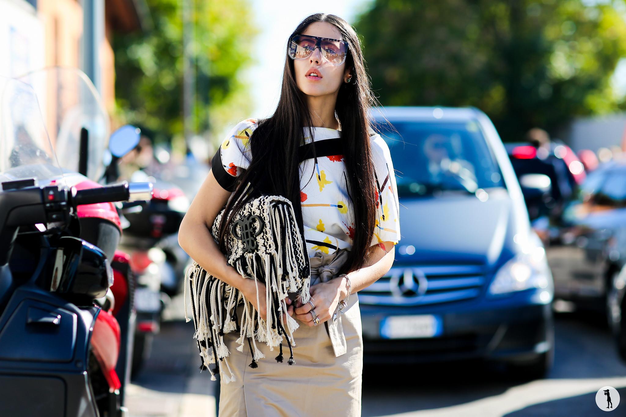 Gilda Ambrosio at Milan Fashion Week-2