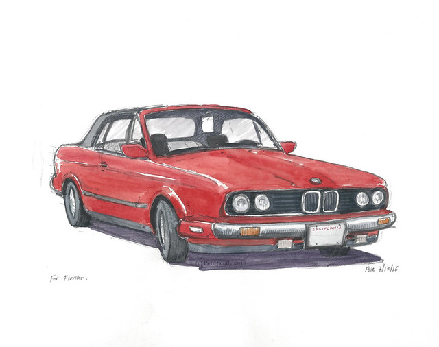 Red BMW for Florian 071716