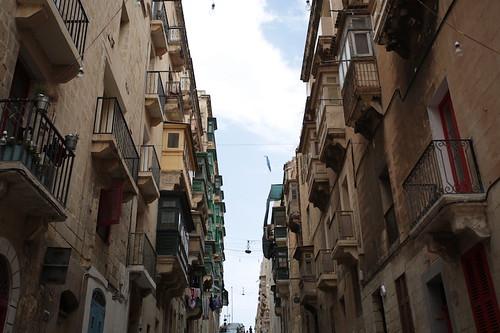 Balconi a La Valletta