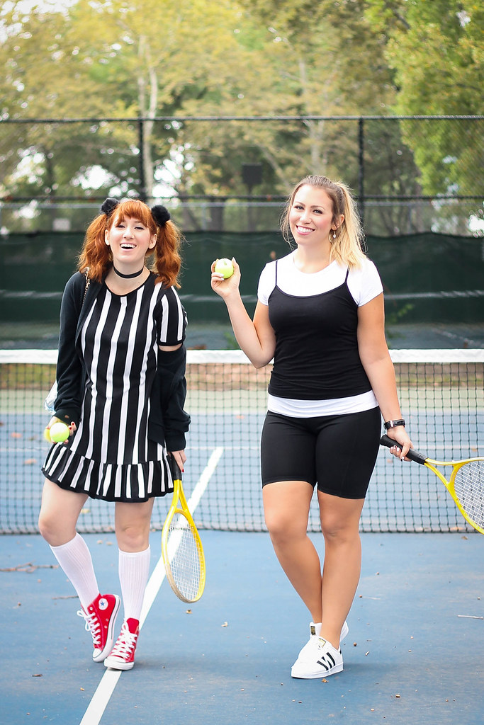 Cher & Amber Clueless Movie Tennis 90s Halloween Costumes