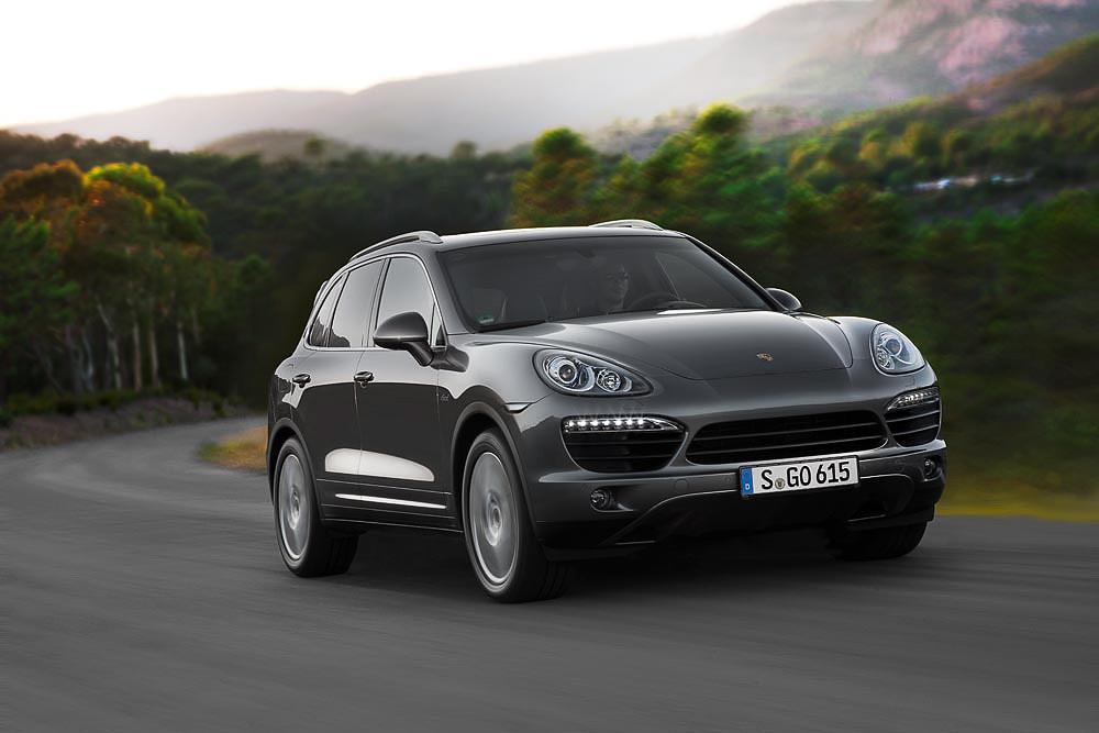 Porsche Cayenne S Diesel. 2012 год