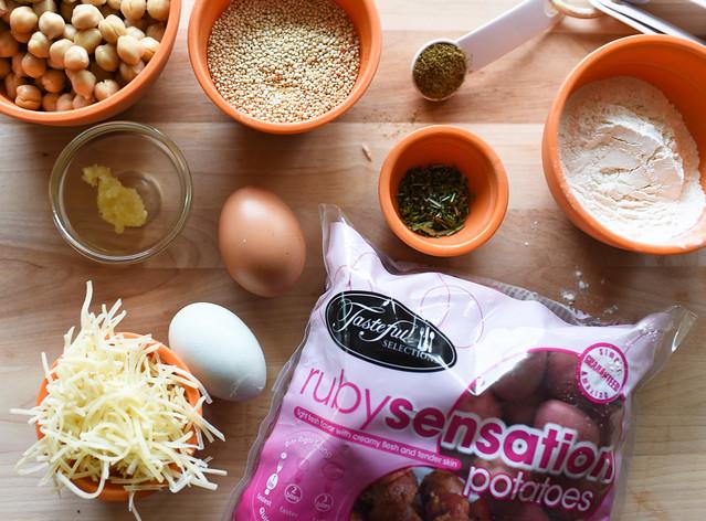 potatopattyingredients
