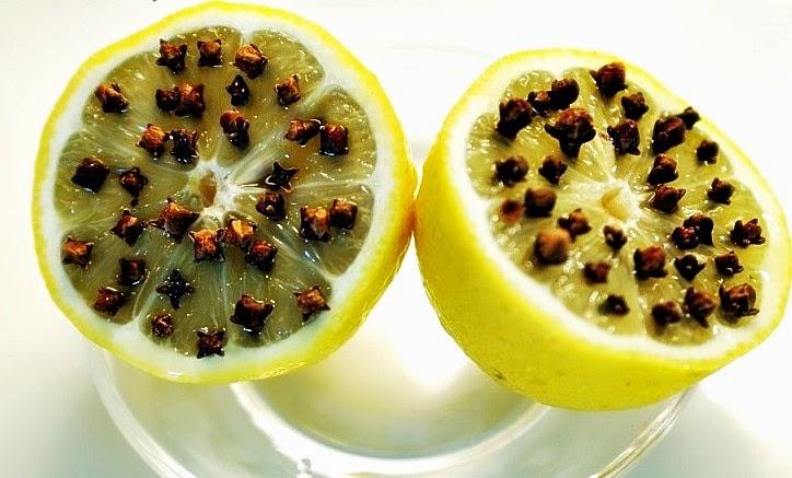 лимон и гвоздика