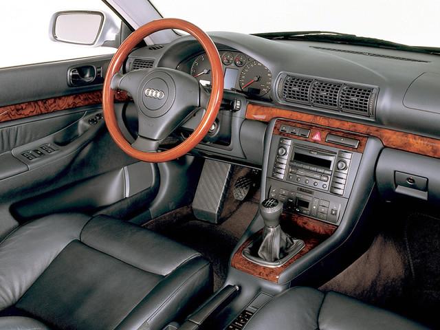 Салон Audi A4 B5. 1997 - 2000 годы