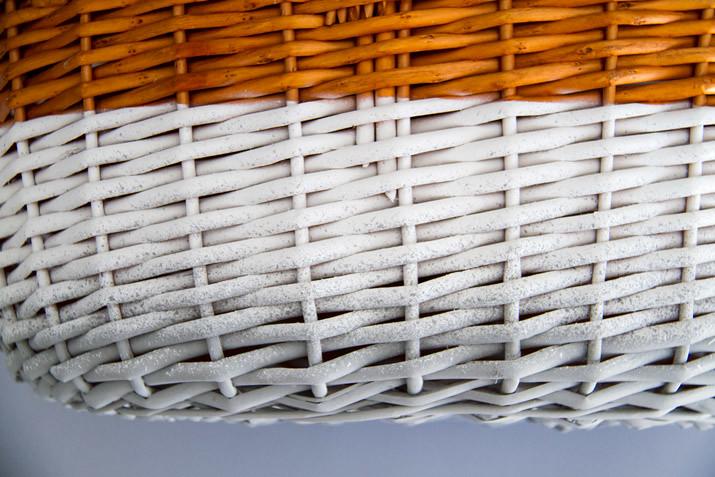 DIY Cesta de picnic color degradado · DIY Ombre picnic basket · Fábrica de Imaginación · Tutorial in Spanish