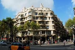 Casa Mila. Barcelona. Spain