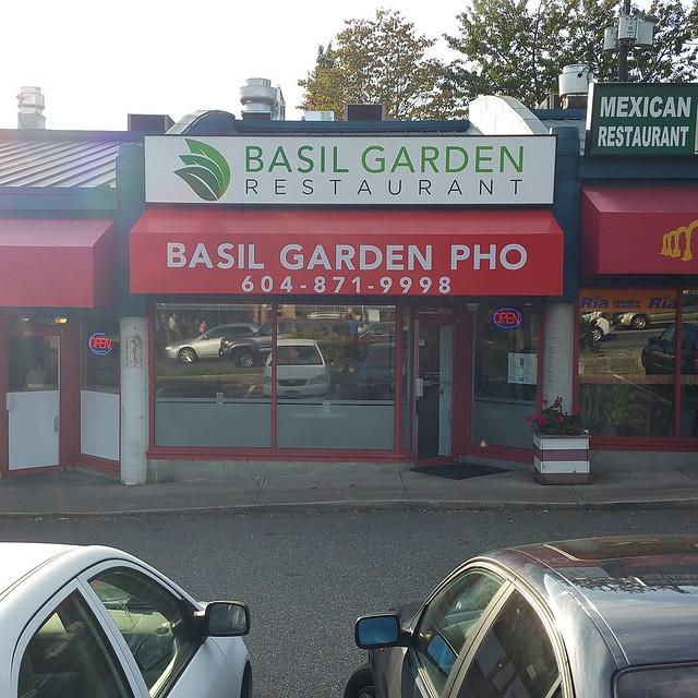 2016-Sep-28 Basil Garden Pho