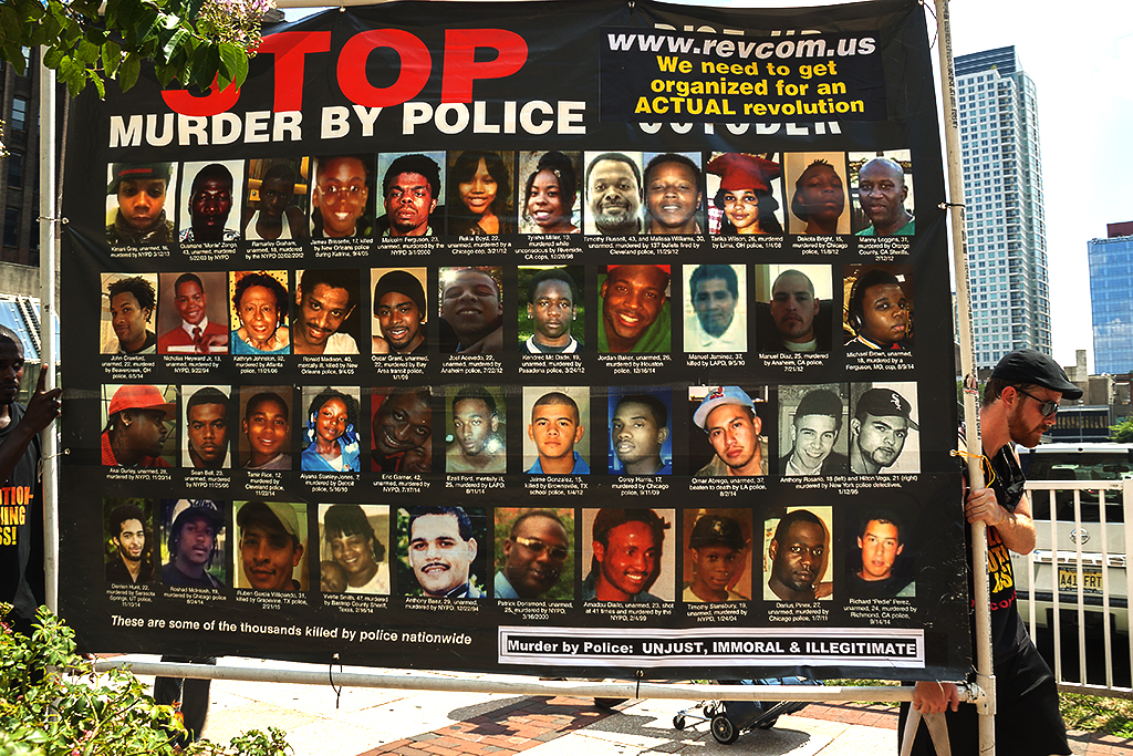 STOP MURDER BY POLICE on 7-27-16--Center City