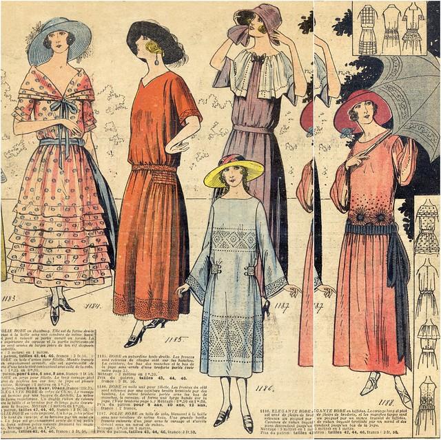 1922, Dernières Modes de Paris