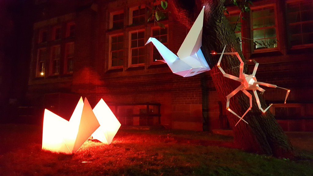 Origami at Nuit Blanche