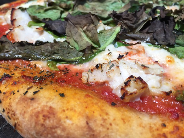 Sake lees / Turkey Pizza