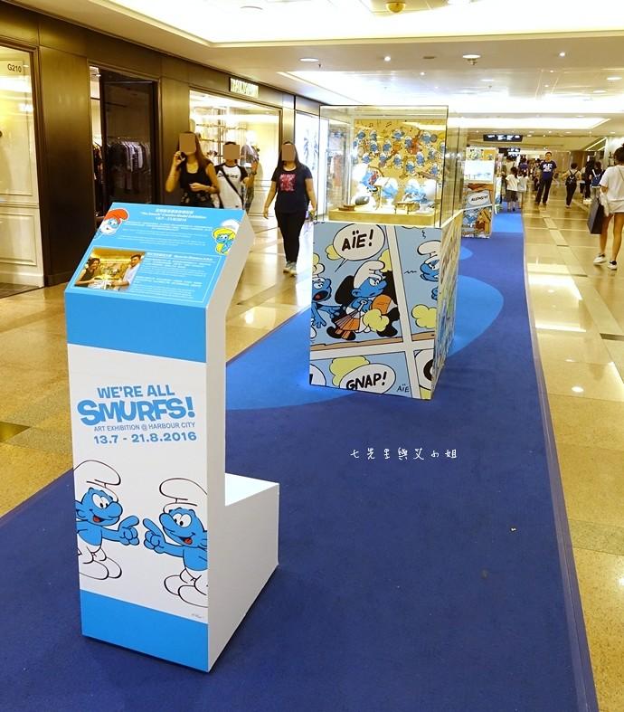 29 香港 海港城 Harbourcity 藍精靈 十分勁