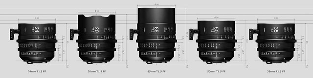 20160907_01_SIGMA CINE LENS Series & 85mm F1.4 DG HSM ART?